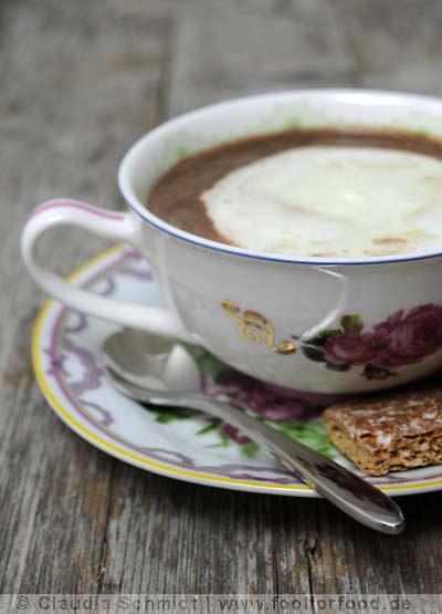 Rezept mit Bild für Heiße Schokolade nach Jamie Oliver