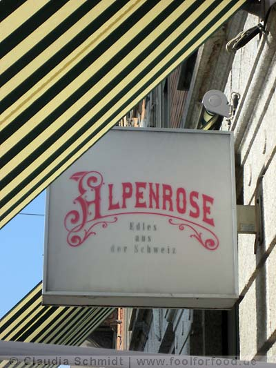 Restaurant Alpenrose in Zürich