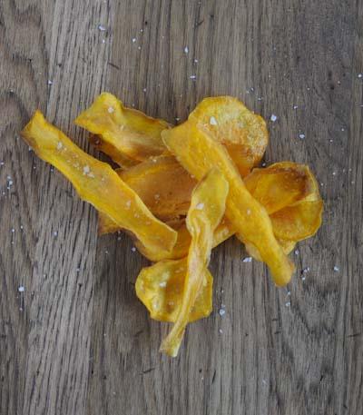 Rezept mit Bild für Süßkartoffelchips