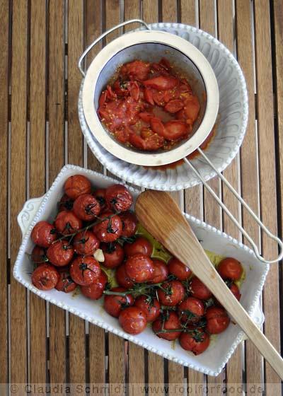 Rezept mit Bild für Tomatensuppe
