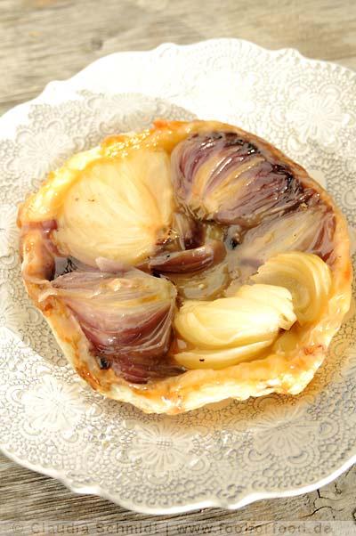 Rezept mit Bild für Zwiebel-Tarte-Tatin